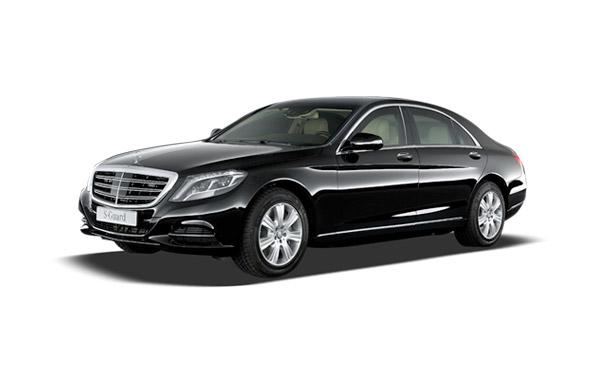 S Class Black Mercedes